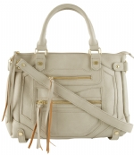 Steve Madden Btalia Satchel Bag-Bisque