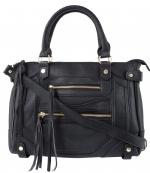 Steve Madden Btalia Satchel Bag-Black