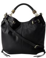 Steve Madden Bempress Hobo Shoulder Bag- Black