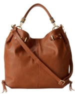Steve Madden Bempress Hobo Shoulder Bag- Cognac