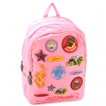 Ed Hardy Maya Patches  Backpack- Baby Pink
