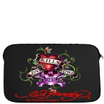 Ed Hardy Love Kills Slowly Bill Laptop Sleeve - Black