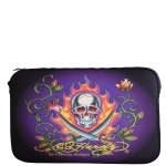 Ed Hardy Swords Bill Laptop Sleeve  - Black