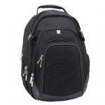 Ed Hardy  Embossed Smith Tiger Backpack-Black
