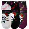 Ed Hardy Skull With Roses Fancy Sport Socks