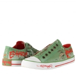 Ed Hardy Lowrise  Sneaker for Women - Military