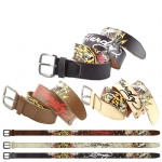 Ed Hardy EH1429 Mens PROWLER Leather Belt