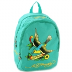 Ed Hardy Misha Spring Sparrow Backpack- Turquoise