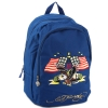 Ed Hardy Josh Embroidered American Eagle Backpack - Navy