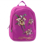 Ed Hardy Josh Iris Backpack -Violet Purple