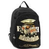 Ed Hardy Josh Embroidered Special Ops Bulldog Backpack - Black