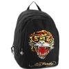 Ed Hardy Josh Embroidered Tiger Backpack - Black