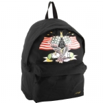 Ed Hardy Shane American Eagle Backpack-Black
