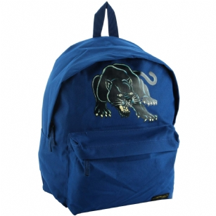 Ed Hardy Shane Panther Backpack-Navy - The Ed Hardy Shane Panther Backpack-Navy is perfect for Back to School or that Trendy kid that wants to look Hot and Fashionable. Front features panther tattoo and zip pocket for plenty of storage. Top handle for easy carrying. This backpack is the Latest 2011 Back to school release and includes mesh detail and plenty of padding which gives it extra durability.