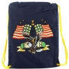 Ed Hardy  Drew Drawstring American Eagle Bag - Navy