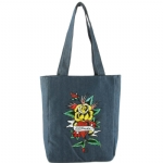 Ed Hardy Ness Flower HeartTote- Denim