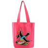 Ed Hardy Ness Spring Sparrow Tote- Hot Pink