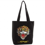 Ed Hardy Ness Tiger Tote- Black