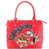 Ed Hardy  Let It Ride Paula Large Tote - Red