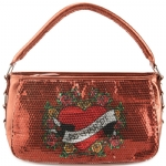 Ed Hardy Fluer Delight Agnes Shoulder Bag - Copper