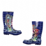 Ed Hardy Seattle Boots for Kids - Navy