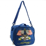 Ed Hardy Shal American Eagle Lunchbox- Navy