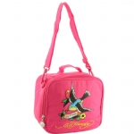 Ed Hardy Spring Sparrow  Lunchbox- Hot Pink