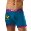 Ed Hardy Sinner Pop  Boxer Brief - Turquoise