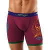 Ed Hardy Freedom Fighter Pop  Boxer Brief - Rapsberry