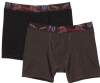 Ed Hardy Men's Panther 2 Pack Boxer Brief