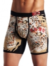 Ed Hardy Men's Japan Tiger Premium Boxer Brief - Black