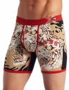 Ed Hardy Men's Japan Tiger Premium Boxer Brief - Red