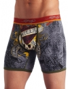 Ed Hardy Men's Love Kills Slowly Premium Boxer Brief - Red