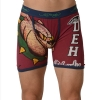 Ed Hardy Men's Athletic Bulldog Vintage Boxer Brief - Red
