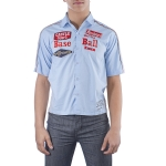 Ed Hardy Toddler Boys Buttoned Shirt - Light Blue