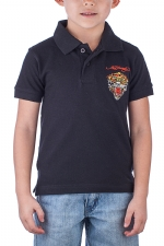 Ed Hardy Toddlers Tiger Polo - Black