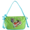 Ed Hardy Girls Scarlett Shoulder Bag- Green