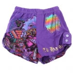 Ed Hardy Kids Girls Tab Shorts - Purple