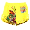 Ed Hardy Girls Tab Shorts - Yellow