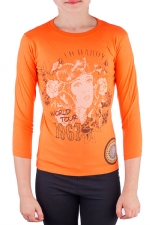 Ed Hardy Kids Girls T-Shirt - Orange