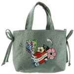 Ed Hardy Girls Luana Tote Bag- Blue