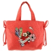 Ed Hardy Girls Luana Tote Bag- Red