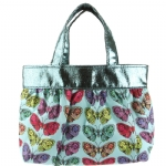 Ed Hardy Girls Ruby Tote Bag- Turqoise