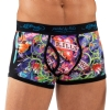 Ed Hardy Love Kills Slowly Neon Trunk Brief - Black