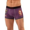 Ed Hardy Love Kills Slowly Patch Trunk Brief - Purple