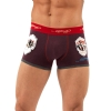 Ed Hardy Stinky Patch Trunk Brief - Burgundy