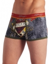 Ed Hardy Men's Love Kills Slowly Premium Trunk - Red