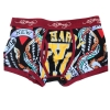 Ed Hardy Men's Tough Yankee Premium Trunk - Burgundy