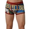 Ed Hardy Men's Lets Go Bulldogs Vintage Trunk - Red