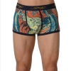 Ed Hardy Men's Cowboy And Horse Trunk - Navy